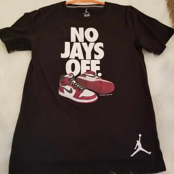 fd3312b91bf544 Jordan Other - No Jays Off T Shirt